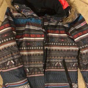 Girls Roxy winter coat